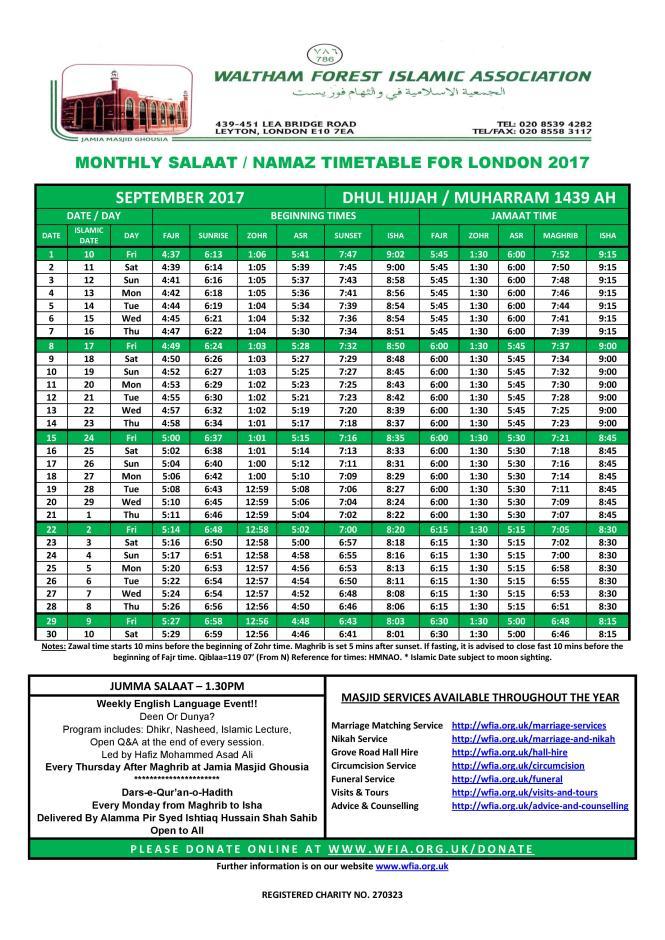 WFIA-September-2017-Salaat-Timetable