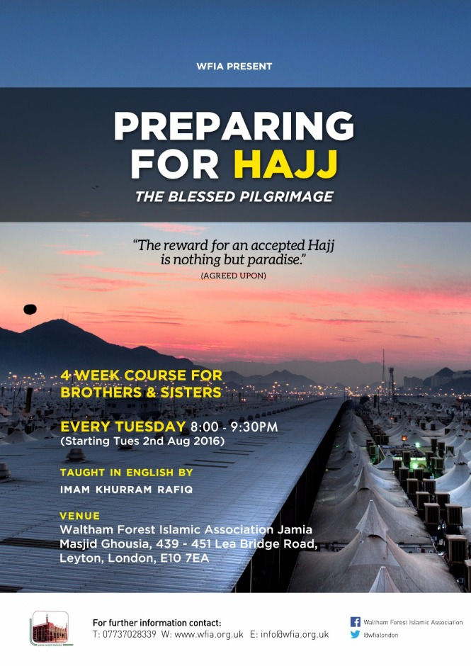 WFIA Preparing For Hajj Course