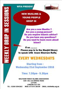 WFIA New Muslims Drop In Sessions