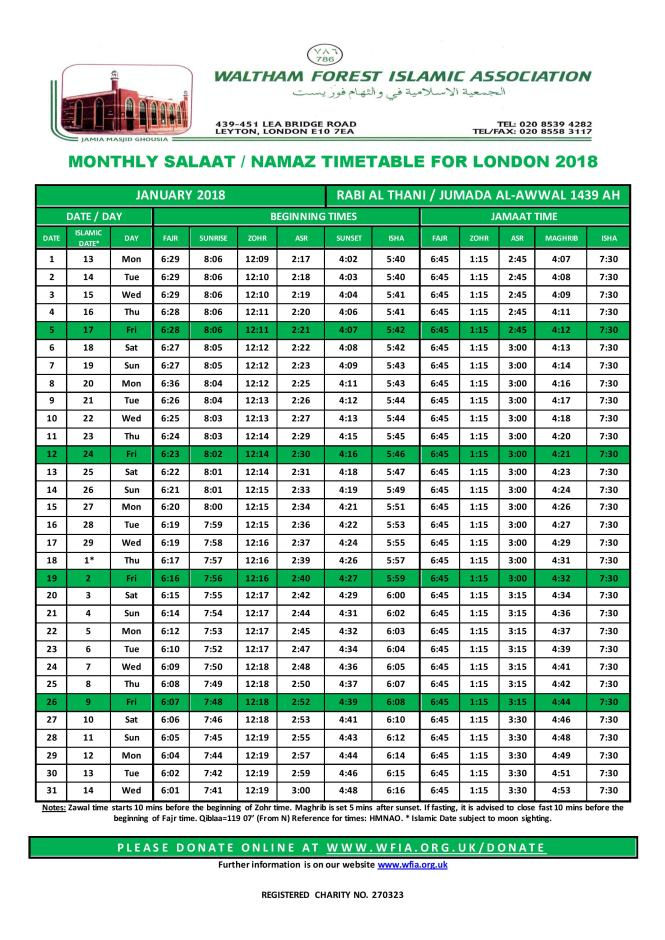 WFIA_Salaat_Timetable_201801_JAN_FINAL